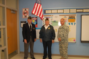 OF American Legion flag donation to OFIS