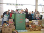 OFIS toys for tots volunteers