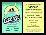 OFHS GREASE Poster Mat