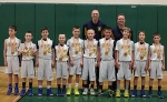 4th grade basketball team
