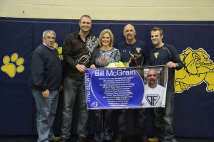 Coach McGrain Honored