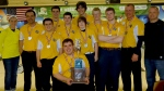 OFHS bowling team 2nd place