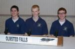 OFHS academic radio team photo