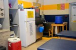 olmsted falls high school trainer room ice machine