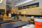 Olmsted Falls high school trainer room