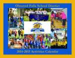 2014-2015 Activities Calendar - COVER IMAGE