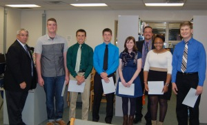 Board of education pix with awardees