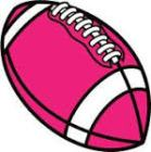 powder puff football pink