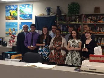 French Honor Society Induction 2014