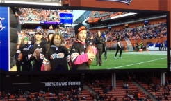 Hailey on Browns screen