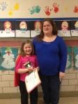ECC's Samantha Huelsman and her Mom.