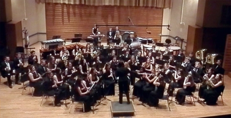 OFHS band BW conservatory