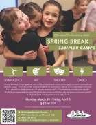 OPA - Spring Break Camp Flyer
