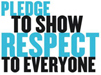 pledge to show respect