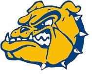 color bulldog head