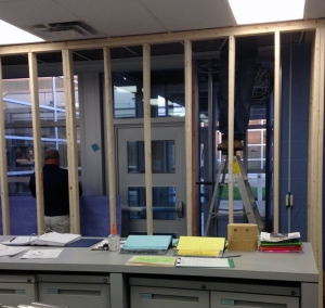 OFMS interior work
