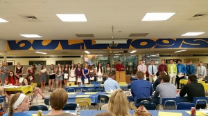 OFHS track field banquet