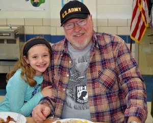 Olmsted Falls Veterans Day breakfast photo Joanne Berger DuMound