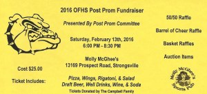 post prom wing night ticket