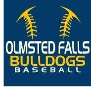 Bulldog Baseball Logo