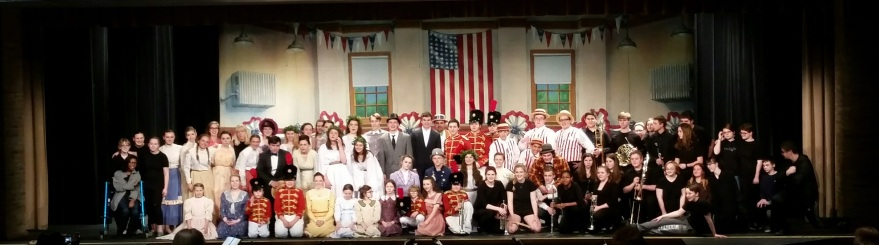 music man cast and crew