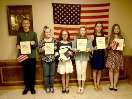 Berea Elks Americanism Winners 2016 a