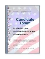 candidateforumflyer