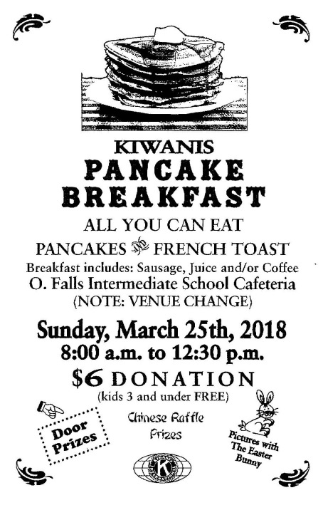 Kiwanis Pancake Breakfast at OFIS