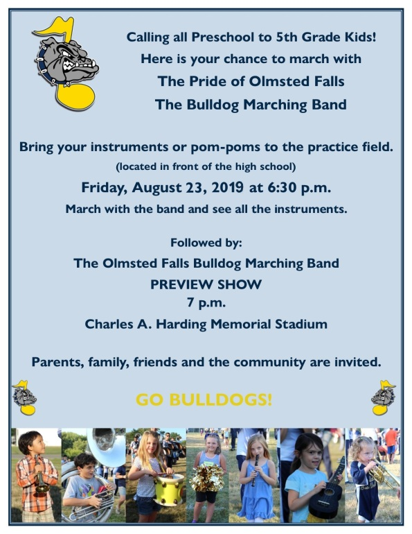 Marching Band Preview Night 2019