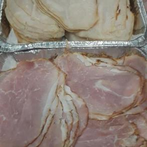 ham and turkey