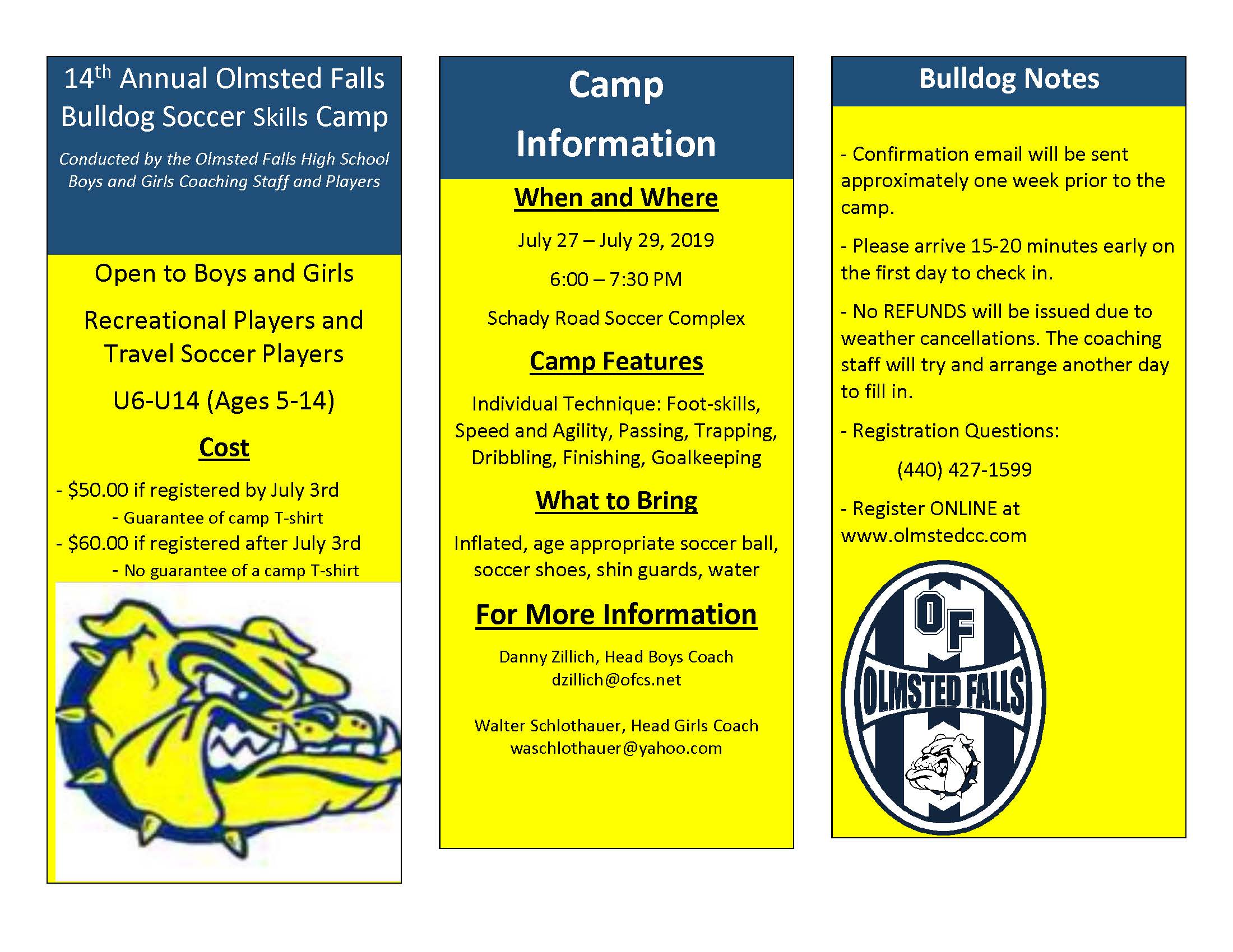 14th-Annual-Olmsted-Falls-Bulldog-Soccer-Skills-Camp