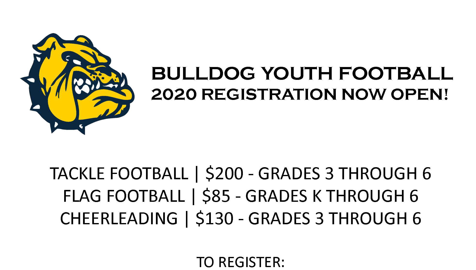 2020 youth football