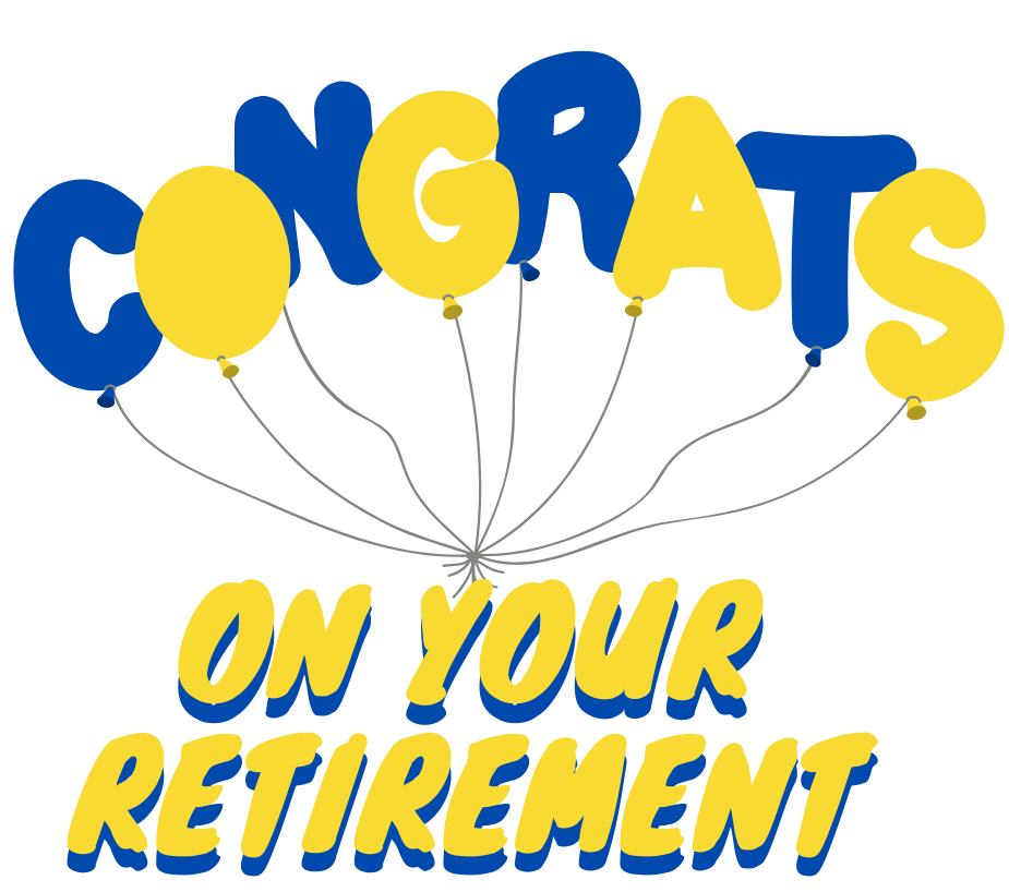On your retirement