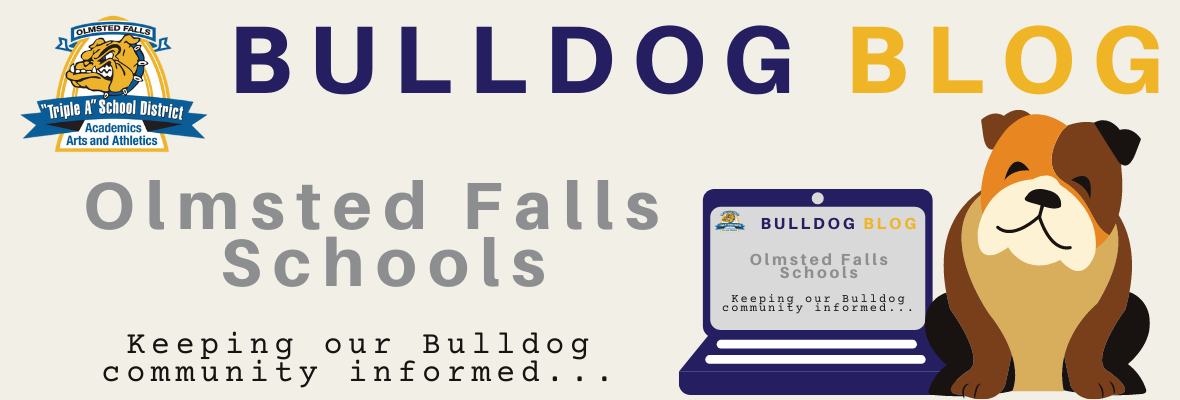 OLMSTED FALLS SCHOOLS Bulldog Blog